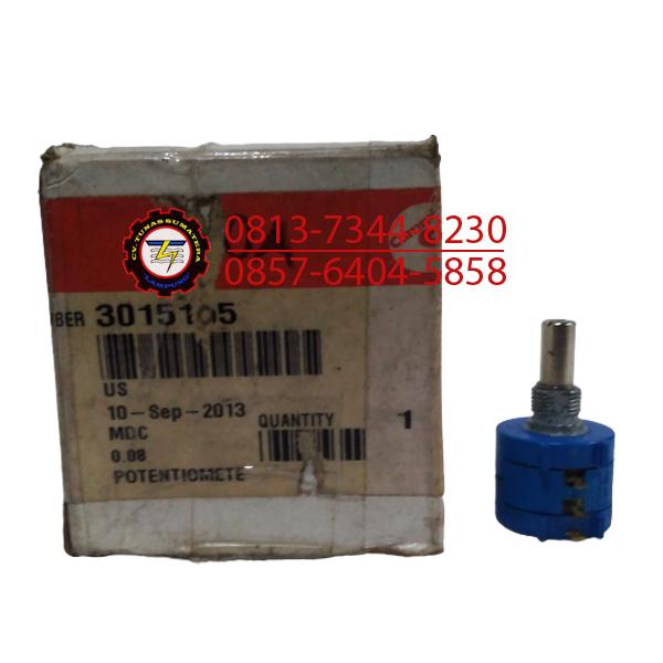POTENTIOMETER PART NUMBER 3015105 CUMMINS SUKU CADANG GENSET LAMPUNG
